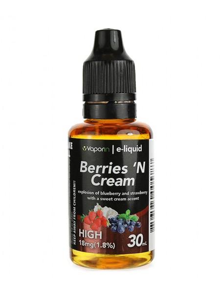 Berries 'N Cream E-liquid - 30ml