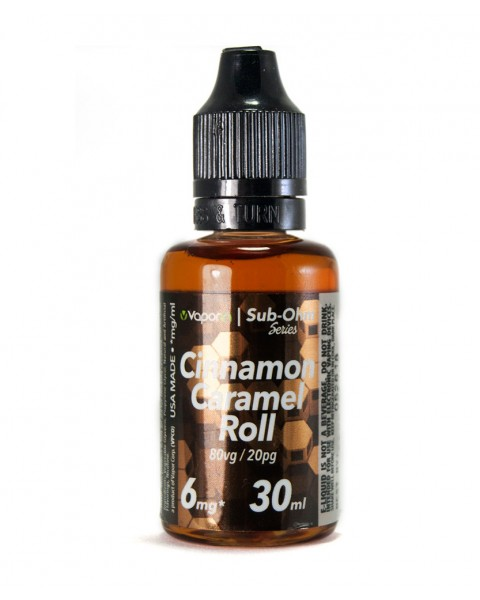 Cinnamon Caramel Roll eLiquid SOS