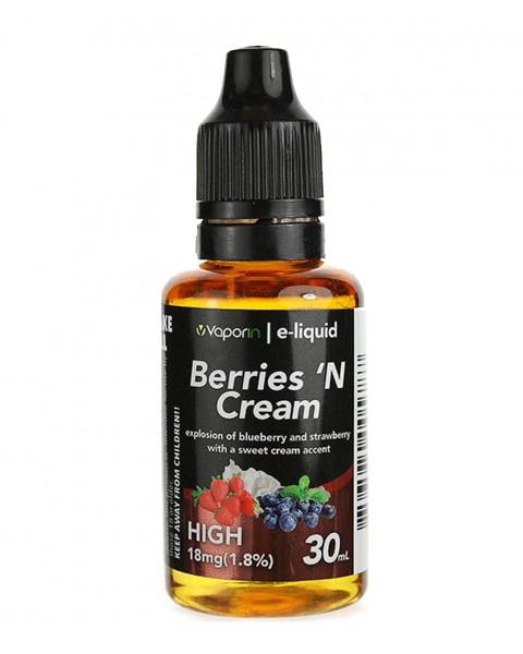 Berries 'N Cream E-liquid - 30ml