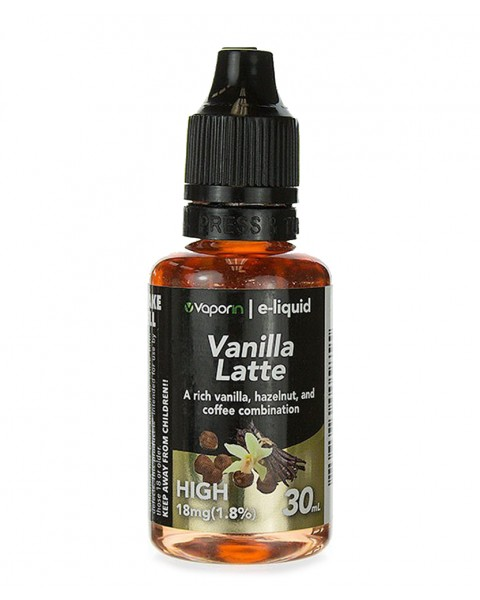 Vanilla Latte E-liquid - 30ml