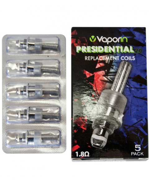 Presidential 2.0 and Pro Glass Air Replacement Coils - 5 pack