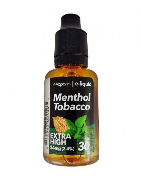 Menthol-Tobacco E-Liquid - 30ml
