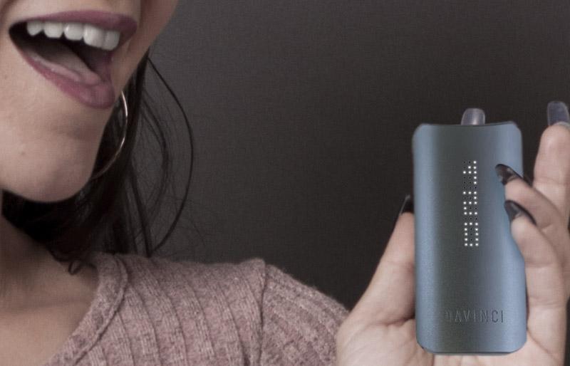 Portable Dy Herb Vaporizer - IQ by Davinci